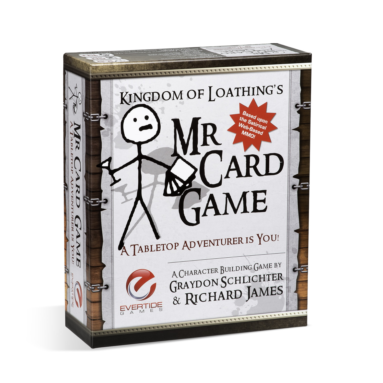 Mr. Card Game Box Front